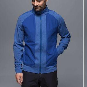 NWT Lululemon Tactic Jacket Blue Heathered Sweater
